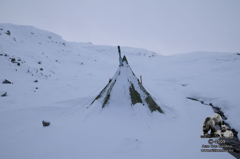 Helsport varanger 4-6, mye snø