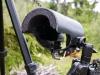 Sennheiser MKE400 med regnskydd i skogen